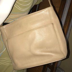 Coach 4924 Sonoma Beige Leather Shoulder Bag
